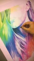 Drawing - Work in progress by fabri360