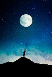 Balloon Moon by Cornuts16