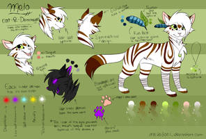 Melo - Reference Sheet [November 2016] by WildMelo