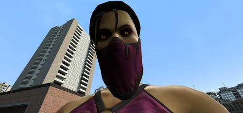 Caught By Giantess Mileena Ver. 2 by jawsjr2