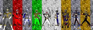6th Rangers for asrockrpg by RAatWTEN