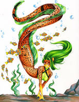 Commission: Leaparda by dead-kittens3