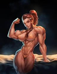 Overwatch : Brigitte by Rokupan