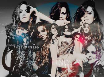 Lindsay Lohan layout by pistacjowa