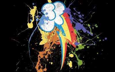 Rainbow Dash - Cutie Mark by samwise23