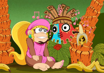 Request - Dixie Kong gets hypnotized by Wild-Cartoon-Feather