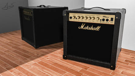Marshall Amplification by M-Santin