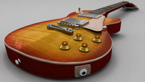 Less Paul Guitar by M-Santin