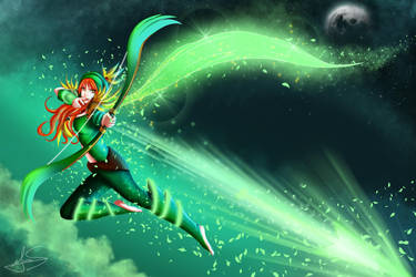 Windrunner - DotA 2 by M-Santin