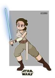 Rey  by Lotikmac