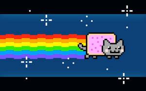 Nyan Cat Wallpaper by Phkoopz