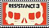 Resistance 3 Stamp by SuperFlash1980