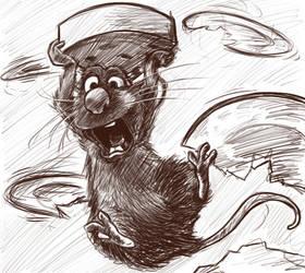 Pixar: Ratatouille by RadioRae62189
