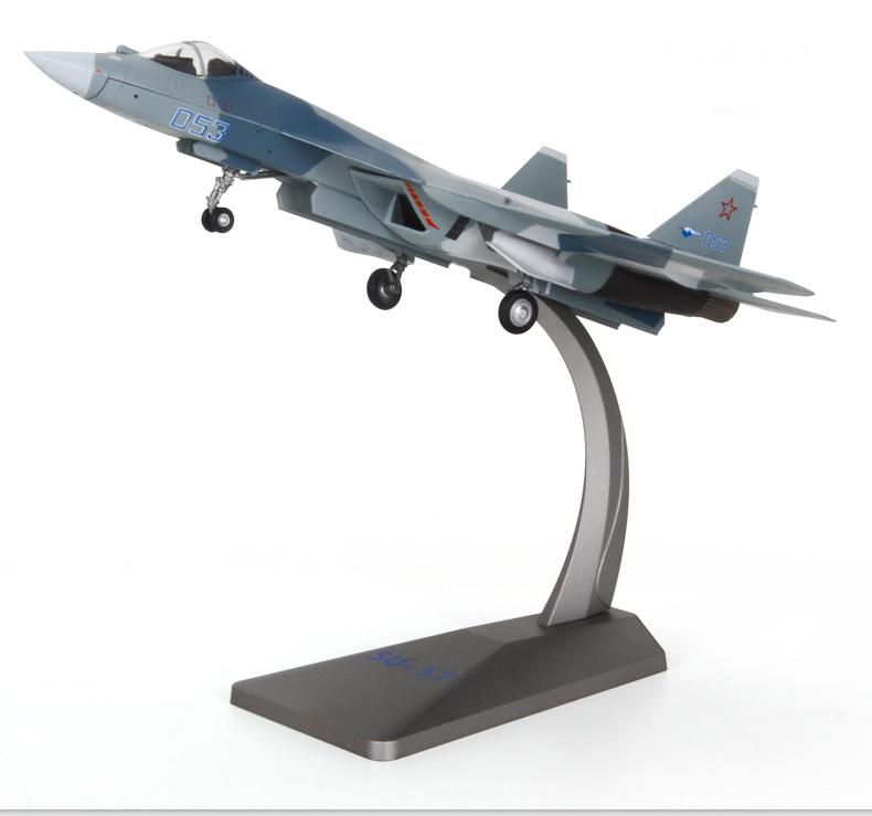 AF1 1/72 Russian Sukhoi T-50 (Su-57) Diecast Fighter Model