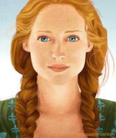 Portrait Study by melissyjane