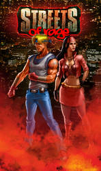 StreetS of Rage colored by hamex