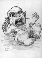 the Devil's Newborn by hamex