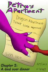 Petra's Apartment CH 2 Cover by Krazy-dog