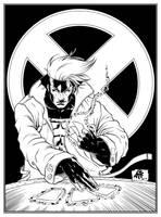 Gambit By Atf180, Inked. by JDB-Inks