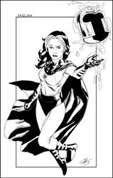 Rogue As Magneto Clayton Henry by JDB-Inks