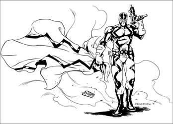 Fantomex Inks by JDB-Inks