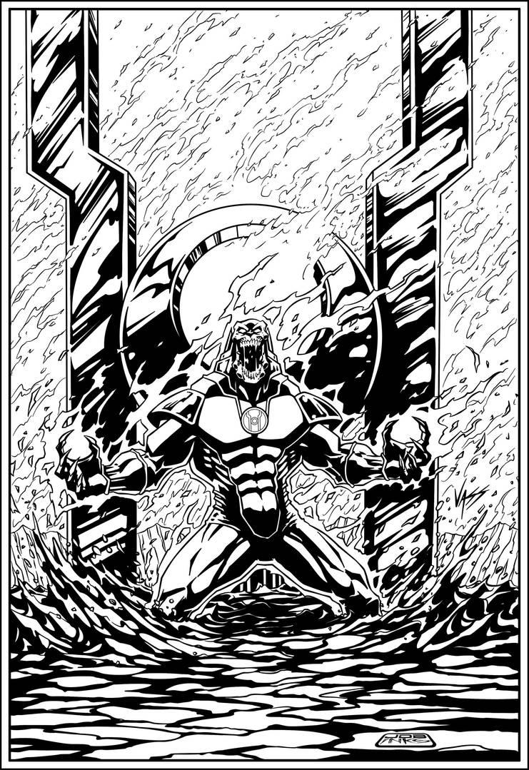 Atrocitus By Vass Comics. by JDB-Inks