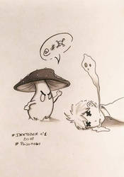 Inktober 01 Poisonous ! by Pandhes