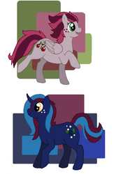And Then Ponies by Narfadoodle