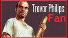 Trevor Philips Gta V Stamp by VampireHelenaHarper
