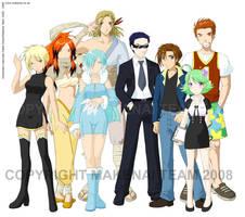 Makenai Character Designs - C by tigerangel