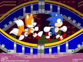 Sonic 2 - Chemical Plant Zone by tigerangel