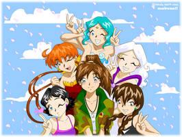Girls of Makenai by tigerangel