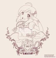 AmeCon 2012 - Conbag Image by tigerangel