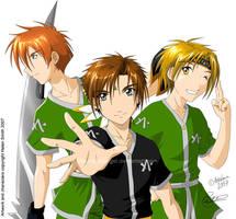 Angel League - My Boys by tigerangel