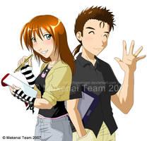 Makenai Team - Anime Style by tigerangel