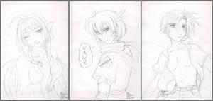 Tokyo Sketches by tigerangel
