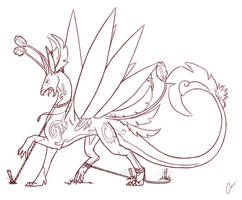 Dragon Captive by KyriaDori