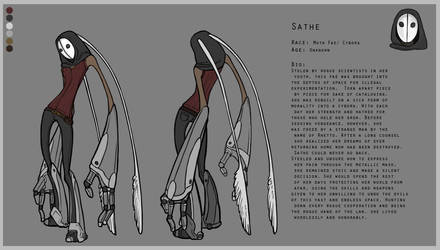 Sathe - Reference Sheet by KyriaDori