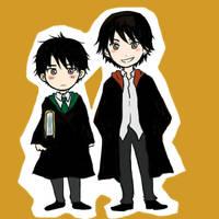 Sirius and Regulus Black by yiulove