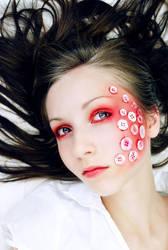 Push This Button Makeup by Niiro-Kakumei