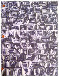 Blue Maze by Asmathues