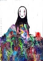 Spirited Away by Anouk-Jill