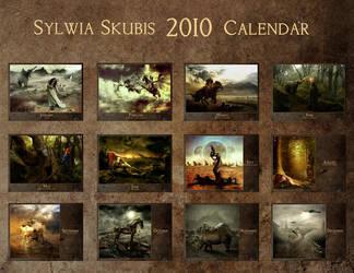 Sylwia Skubis 2010 calendar. by SylwiaS