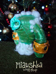 Water Elemental Handmade Plushie - WoW by miaushka-workshop