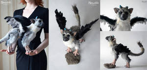 Trico Handmade Plushie (collage) by miaushka-workshop