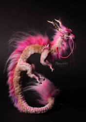 Chery Blossom Dragon by miaushka-workshop
