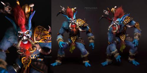 The Shadow hunter Vol'jin by miaushka-workshop