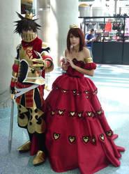 AX11- Kingdom Hearts- Royalty by suiseiusagi