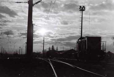 Rail Tracks and Eskisehir II by Yutonet