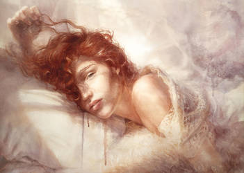 Morning and Emilie. France by Kate-Toluzakova
